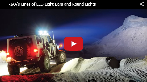 PIAA's Line of LED Light Bars and Round Lights_Youtube