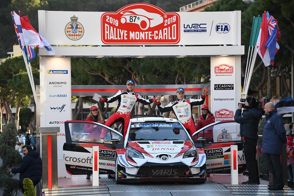 WRC MC Podium Tannak